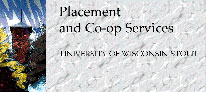 UW-Stout Placement and Co-op Services original website header